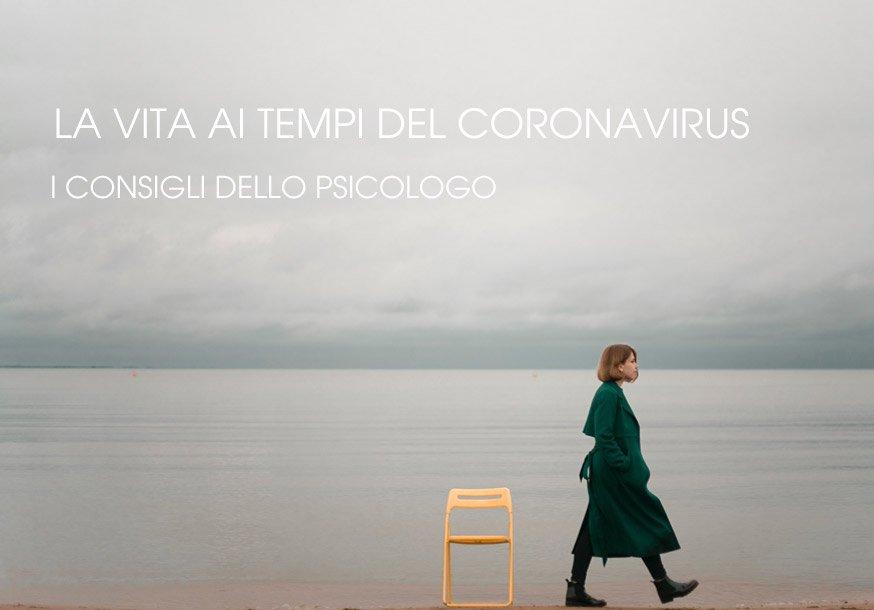 Coronavirus i consigli dello psicologo