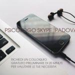 Psicologo Skype Padova - Psicoterapia on line Padova