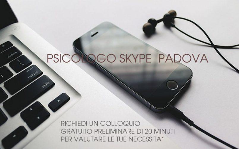 PSICOLOGO SKYPE PADOVA